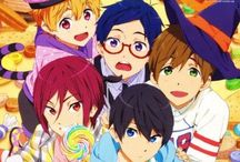 Free! / The story revolves around Haruka Nanase, a boy who has always loved to be immersed in water, and to swim in it. Before graduating from elementary school, he participated in a swimming tournament along with his fellow swimming club members, Makoto Tachibana, Nagisa Hazuki, and Rin Matsuoka. After achieving victory, each of the boys went their separate ways.