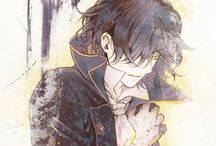 """Pandora Hearts / Oz Vessalius, heir to one of the duke houses, has just turned fifteen. His life is rich and carefree, darkened only by the constant absence of his father. At his coming-of-age ceremony, however, everything changes. For no reason that he can discern, he's cast into the prison known as the """"Abyss"""", only to be saved by a """"chain"""" known as Alice, the Bloodstained Black Rabbit."""