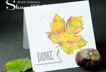 Herbst und Halloween / Ob romantisch fallende Blätter oder kleine gruselige Gespenster - egal wie ihr den Herbst begrüßt, wir haben kreative Ideen für euch!  / by Stampin' Up! Deutschland / Österreich