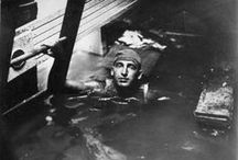 Response: Divers & Welders / Those stuck inside the hull of the overturned Eastland were trapped in fear. Suffering and death surrounded them as they heard passengers fighting for their lives. Heroic divers and welders assisted the policemen and firemen on the scene of the Disaster, oftentimes going where even professionals could or would not go.