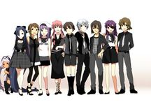 Mirai nikki / Yuki prefers to write a diary on his cell phone and talk to his imaginary friend, Deus Ex Machina – The God of Time and Space. However, Yuki soon learns that Deus is more than a figment of his imagination when he makes Yuki participate in a battle royale with eleven others. The contestants are given special diaries that can predict the future, each diary possessing unique features that give it both advantages and disadvantages.