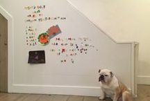 The Magnetic Multipurpose Room / The magical magnetic wall makes room for everyone, and everything.