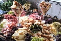 Entertaining / Perfect for parties, be inspired and get creative with your cheese displays!