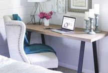 Home Office Ideas / Home Office Decorating Ideas