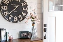 Home Decor: Entry and Hall / Ideas for decorating entry ways and hallways
