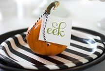 Halloween / Halloween decorations, food, party favors and crafts