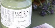 Fusion mineral  paint & Milk paint.