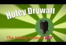 The Handy Woman DIY / This is a show that will teach you that many of the projects around your home are no where near as frightening as they look. Kim grew up fixing all kinds of projects around her house, and today is frequently called to help her friends around their homes. Now, she is teaching you that home repair is smart and fun!