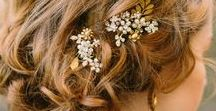 Wedding Beauty Inspo <3 / Beauty inspiration for your big day. Hair styles and make up ideas