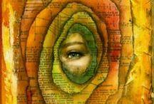 mixed-media: inspiring artwork