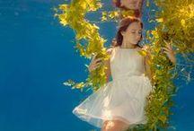 In-, onder- en rondom het water  / Diverse dingen die ik mooi vind. Onderwater, in het water of er omheen