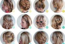 Hair Style / Verschillende soorten kapsels ed.