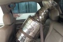 Lord Stanley / He comes with 2 body guards at all times. What a popular guy...