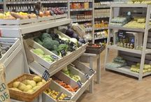 Farm Shop & garden centre display / Capturing the simple natural charm of the wooden crate