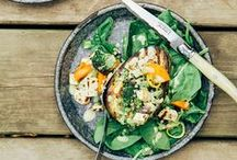 spring eats / Spring foods and recipes for seasonal wellness.