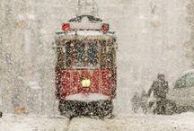 трамваи не ходят кругами / go by tram