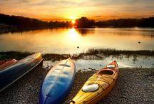 "Kayak / Aquatic nature #1 ""caulkers by trade"""