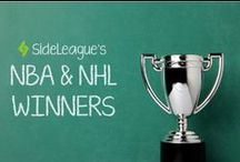 SideLeague Winner's Circle / Congrats the weekly winners of SideLeague. Download SideLeague short-term fantasy sports app now at the App Store or Google Play store!