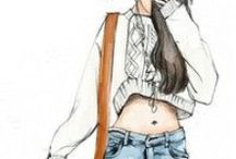fashion & sketch / tasarım çizimleri