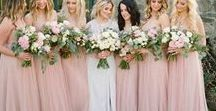 Pink/Blush Wedding Theme Inspo / Love pink and blush? Well check out these ways of adding your favorite colors into your special day