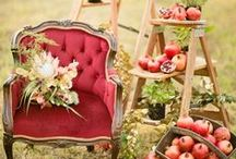 Fall Weddings   The Homestead 1835 / Ultimate inspiration for autumn weddings, from fall florals and color palettes to decor and details. www.homesteadevents.com #thehomestead1835 #weddinginspiration #weddings #homesteadevents