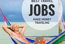 Travel Jobs and Working Abroad / Tips and tricks for earning money, finding jobs and surving long term abroad. Here you'll find pins on teaching online to finance travel, digital nomad work, travel and tourism jobs, travel work opportunities, tour guide positions and seasonal work such as fruit picking, plus much more. If you have ever thought 'I want a job where I can travel the world' this is a great place to start. Tips also cover making income from a blog, gap year work and grabbing backpacker jobs for those in hostels.