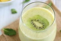 Healthy Beverages - Smoothies, Shakes, Juices and More! / Nutritious drinks to keep you refreshed, hydrated and powered up! Lots of ideas of snacks, breakfast-on-the-go ... even desert! / by Two Healthy Kitchens