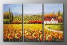 Botanical - Oil Paintings / Beautiful floral oil paintings on canvas.