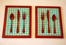 Kitchen Decor / Artistic decals and stickers for kitchen walls and kitchen accessories.