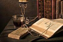 A livre ouvert / Un livre ouvert, c'est comme prendre un avion, un train, un bateau...c'est le début d'un voyage ....