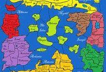 games met land, map, plattegrond etc / by m vdoorn