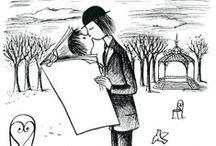 Peynet... Les amoureux
