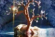 Wire tree / wire sculptures