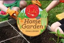 Home Garden Challenge / The Kitchen Club Kids co-creators have started a little friendly competition to see which of us can turn out the best home garden this summer. We don't have any strict rules or guidelines to follow – raised beds, planter boxes, container gardens are all fair game. We can plant whatever vegetables, fruits or herbs we choose. The challenge is to see who can stick with it from planting to harvest and share our experiences along the way.