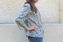 Mode femme Frou-Frou / Toutes les créations couture pour la mode femme avec les collections de tissus Frou-Frou
