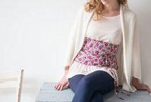 Accessoires de mode Frou-Frou / Tous les accessoires couture réalisés avec les collections de mercerie Frou-Frou