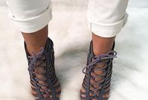 Laced Up in Style / The hottest lace up heels of the season can be found at CiCi Hot.