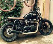30 - BF Motorcycles - TRIUMPH Bonneville 2007 - BF #30 / BF #30 - TRIUMPH Bonneville 2007  #BFMotorcycles - #BobberFucker  https://www.facebook.com/bfmotorcyclesLyon/
