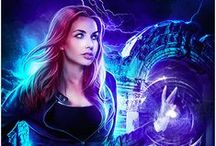 Hunress Book 2: Mirror Mage / An image board for the second book in the urban fantasy Dragon's Gift series. Think Indiana Jones meets Laura Croft, but with lots of magic and monsters.