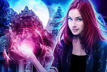 Huntress Book 0: Hidden Magic / An image board for the freebie novella in the urban fantasy Dragon's Gift: The Huntress series. Think Indiana Jones meets Laura Croft, but with lots of magic and monsters. Get it for free by signing up at www.linseyhall.com/subscribe