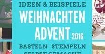 Weihnachten Herbst 2016-2017 Stampin'UP! / Geschenke Verpackung für Weihnachten Advent Adventmarkt Weihnachtsfest Weihnachtsmarkt