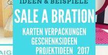 2017 Frühjahr-Sommer SaleABration 2017Ideen Produkte Stampin'UP! / Karten, Geschenke, Verpackungen, Ideen Frühjahr-Sommerkatalog Saleabration Stampinup 2017