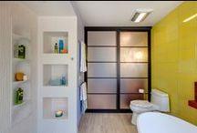 Baños (Donde renuevas tu energía) / Los baños pueden ser sinónimo de renovación y relajación