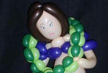 My balloon creations