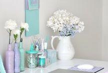 Decora con flores / Renueva los espacios de tu #hogar con ideas originales y sencillas con #flores