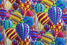 """Balloons/Ballooning/Balloon Fiesta, ABQ, NM www.quiltsole.com / Ballooning and the International Hot Air Balloon Fiesta is such a staple in Albuquerque and throughout New Mexico it is almost as common as """"Red or Green"""".  To satisfy the balloon enthusiast here are some quilts, fabrics and kits that will surly please even if October has ended! www.quiltsole.com"""