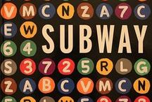 Subway | Going Underground / I love the subway. There's nothing like that weird smell underground, the wind that sweeps across the platform when a subway car rumbles past. Subway maps, with their schematic design, are pearls of visual information. To understand the subway system is to understand the city.