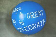 Balloon Singles / Einzelballons, Individual-Ballons