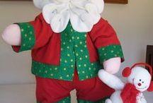 Mis Muñecos navideños / Mis labores navideñas