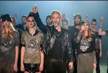 IRON by Qπш Robert Kupisz Winter 2014/15 / Iron by QПШ, Zima 2014/15 to szósta kolekcja Roberta Kupisza. Tym razem polski projektant mody zainspirował się historią i estetyką subkultury harley'owców.
